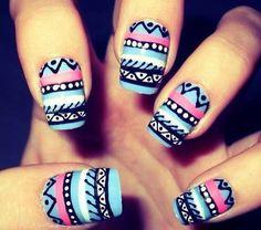 las uñas mas bonitas del mundo!!!!!