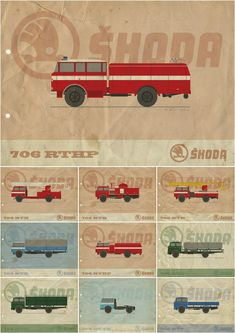Emergency Vehicles, Fire Trucks, My Works, Cars And Motorcycles, Behance, Illustrations, Creatures, Paris, Rpg