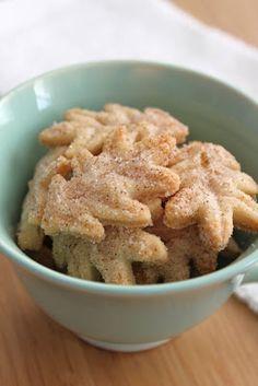 Cinnamon sugar pie cookies...so easy!