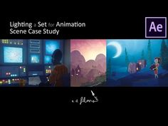 How To Light a Set for Animation with Adobe After Effects - A Scene Case Study   Animation Tutorial - YouTube