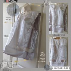 KIIND OF XL Sexy silver some what sheer top NWT absolutely fun top go boldly with your fashion show off you own style Tops