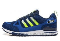 30fc14c0c3853 Adidas Zx750 Men Dark Blue Green Christmas Deals Ts3cG