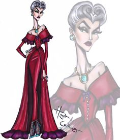 The Disney Villainess collection by Hayden Williams: Lady Tremaine