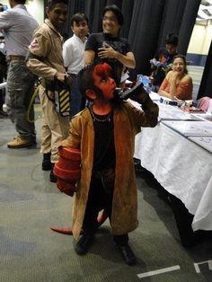 Hell Boy cosplay amazing child