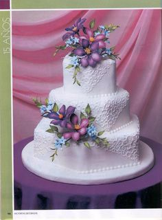 Rivista Cake Design Wedding : 1000+ images about sweet art = cake design + Tutorial on ...