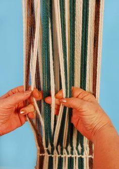 UN LUGAR DE TELAR WITRALWE: MANUAL BASICO DE TELAR MAPUCHE Inkle Weaving, Inkle Loom, Weaving Art, Weaving Patterns, Tapestry Weaving, Hand Weaving, Weaving Wall Hanging, Hanging Wall Art, Textiles Techniques