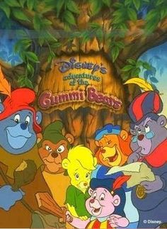 cartoons remember this Gummi Bears was one of my favorite Saturday Morning Cartoons. And you might think that it would suck, based on the title. But Disney really did a good job on this one. 1980 Cartoons, Disney Cartoons, Saturday Morning Cartoons 80s, Old Cartoon Shows, Kickin It Old School, Bear Cartoon, Happy Cartoon, Disney Shows, Kid Movies