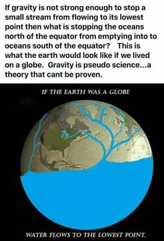 Idiots, gravity is not focused in the south pole. It is from the core of the Earth, that's why gravity is the same all over the GLOBE!!!