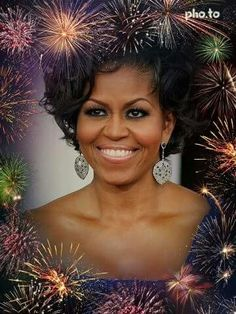 Beautiful First Lady Michelle Obama
