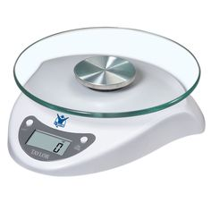 Taylor Precision Products Biggest Loser 6.6-Pound Kitchen Scale with Glass Platform (White)