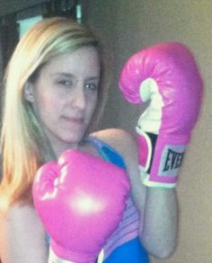 Going into battle! A sweet friend of mine just started her battle with Hodgkins Lynphoma. Fight on!