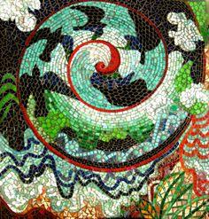 Tradewinds - Mosaic Wall Art by Carl & Sandra Bryant