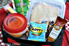 Mommy's Kitchen: Peanut Butter & Jelly Bars + Even More Back to School Lunch Box Ideas