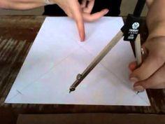 Tsantik - passo 1 da tela de thangka - centralizando - YouTube