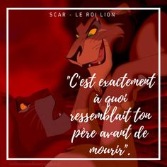 Coucou les collectionneurs Disney, citation des méchants Disney avec cette fois-ci Scar. Retrouvez d'autres citations sur le blog. #disney #quotes #quotesdisney #disneyquotes #citations #citationsdisney #disneycitations #leroilion #thelionking #villains #villainsdisney #mechants