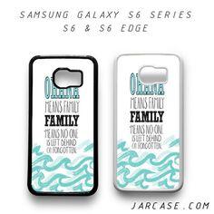 ohana Phone case for samsung galaxy S6 & S6 EDGE