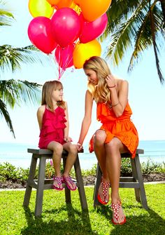 Holster sandals for Mother & Daughter, by Classy Rags