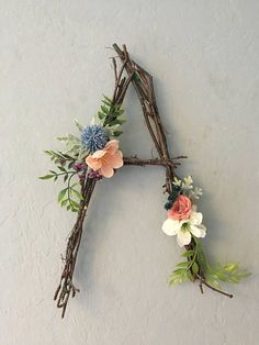 Woodland Nursery Letter Twig Letter Twig Monogram Rustic Wall Letter Rustic Letter Baby Girl Nursery Woodland Nursery Fairy Decor Rustic Home Decor Baby Decor Fairy girl Letter Monogram Nursery Rustic Twig Wall Woodland Rustic Wall Letters, Rustic Walls, Letter Wall, Letter Monogram, Diy Letters, Flower Letters, Letter Wreath, Wall Letters Decor, Decorative Letters For Wall