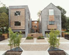 These affordable townhomes in #Houston are aimed at buyers who can't afford ground-up construction, yet still crave sustainable elements: