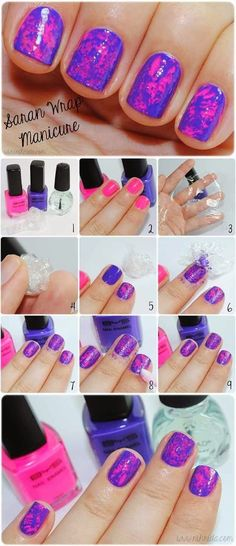 nice The Woman In me: 12 Ideas On How To Do Nail Art At Home.