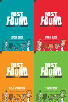 Lost and Found Kids – Leaders Kit - This is what we are using in our childrens ministry.