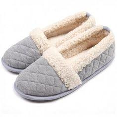 8afe37bceaa0 ChicNChic Slippers Ladies Indoor Bedroom Grey Slippers