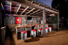 Outdoor Rustic Pub/Bar