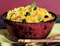 Chef Allen Susser's Mango Macadamia Nut Rice