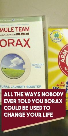 All the Ways Nobody Ever Told You Borax Could Be Used to Change Your Life - Organic Remedies Tips Dishwasher Detergent, Laundry Detergent, Borax Laundry, Laundry Tips, Weed Killer Homemade, Natural Bleach, Bleach Alternative, All Purpose Cleaners, Home