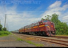 RailPictures.Net Photo: PRR 5809 Pennsylvania Railroad EMD E8(A) at South Plainfield, New Jersey by Jared Steele