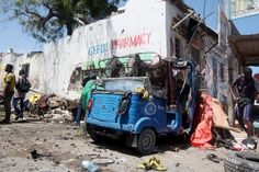 17 killed in Al Shabaab attack on Somali government ministry. April 14, 2015.