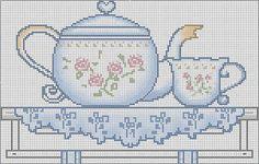 Cross Stitch Designs, Cross Stitch Patterns, Cross Stitching, Cross Stitch Embroidery, Cross Stitch Tree, Cross Stitch Kitchen, Craft Patterns, Craft Fairs, Needlepoint