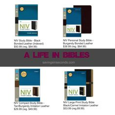 Savings in Seconds | A life in Bibles — get yours on sale at Family Christian!