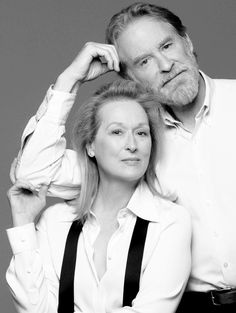 "merylstreepsite: "" Meryl Streep and Kevin Kline, Ricki and the Flash Promotional Photoshoot, 2015 """