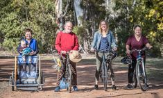 The Canberra family that has shunned cars for 40 years Sustainable Transport, Pushing People Away, Kids Seating, Free Day, Young Family, Save The Planet, Public Transport, 40 Years, Daughters