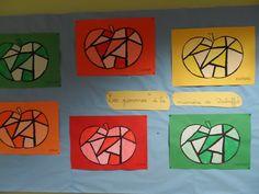 le site de l'école de Rogerville. - PS - MS Mme BENNEY - Arts visuels - La pomme