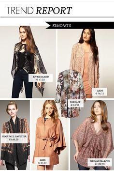 kimono fashion trend   TREND: KIMONO