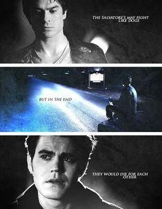 The Salvatore brothers.  #BringDamonBack