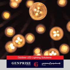 LED lights are extremely energy efficient and satisfy all your indoor and outdoor lighting requirements quite exemplarily. At Genprise Co., we deal in a variety of LED lighting solutions to suit your needs. To know more about our services, visit www.genpriseco.com