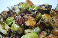brussel sprout bacon shallots