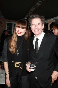 Great new photos - like this one of John Taylor & Diane Birch from the Duran Duran UnStaged After Party: duran.io/101YifP