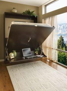Murphy Desk Bed - Queen Vertical