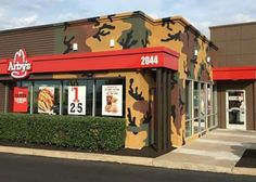 Camo Covered Arbys Sells 250 Venison Sandwiches In First Five Hours