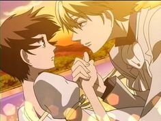 Tamaki and Haruhi- Ouran High School Host Club!