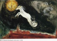 Finale of the Ballet ''Aleko' From Marc Chagall