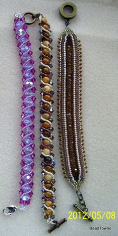Crystals, gemstones and seed beads!