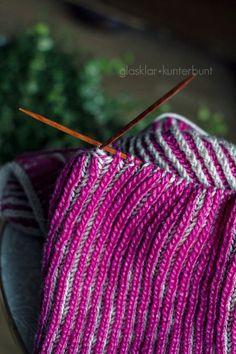 zweifarbig stricken - definitiv ein Must-do, aber wie nur?!
