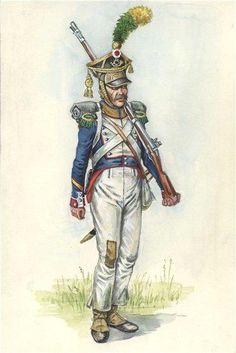 Volteggiatore di un rgt. di fanteria della linea polacca