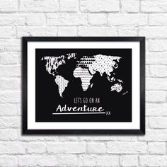 Let's go on an adventure by ThePaperedTribe on Etsy