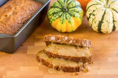 Coffee On The Front Porch - Pumpkin Bread - Brown Butter Apple Pumpkin with Salted Maple Caramel Sauce